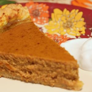 Coconut Milk Pumpkin Pie