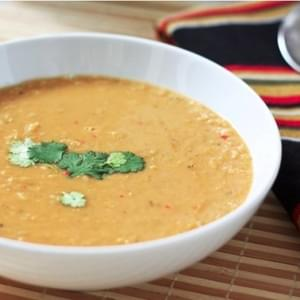 Spiced Coconut Lentil Soup
