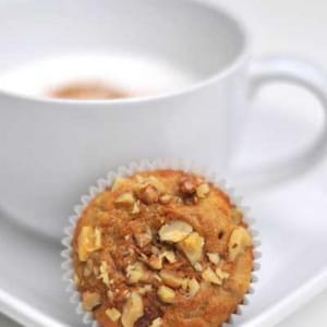 Gluten Free and Grain Free Peanut Butter Banana Muffins