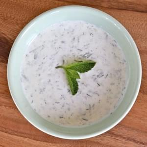 Chilled Greek Yogurt Soup