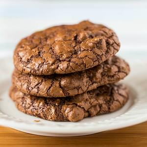 These Chocolate Truffle Cookies Are Absolutely Bursting With Intense Chocolate Flavor!