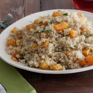 Butternut Squash and Sage Quinoa
