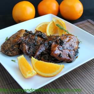 Orange-Balsamic Glazed Chicken