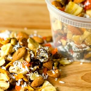 Homemade Tropical Trail Mix