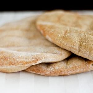 Whole Wheat Pitas