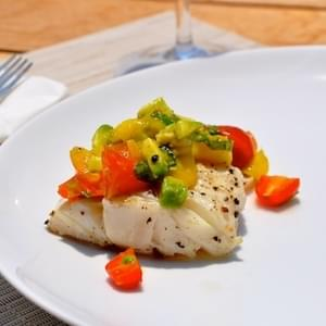 Grilled Mahi-Mahi with Mango-Avocado Salsa