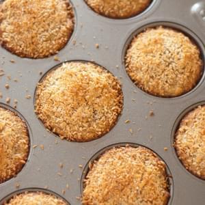 Blackberry Coconut Muffins Recipe