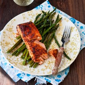 Spicy Honey-Glazed Salmon
