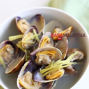 Ginger and Clam Soup Recipe (姜丝蛤蜊汤)