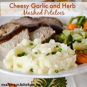 Garlic and Herb Beef Roast and Potatoes Recipe