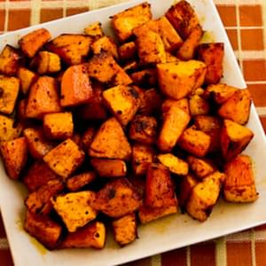Spicy Roasted Butternut Squash with Smoked Sweet Paprika