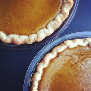 Best Pumpkin Spice Pie with Maple Syrup