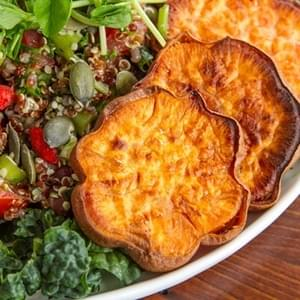 Adzuki Bean & Quinoa Tabbouleh Salad with a Twist