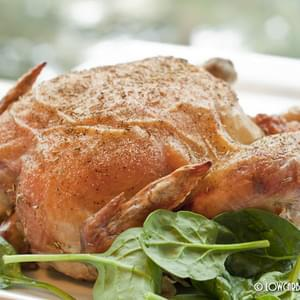 How to Roast a Juicy Chicken with Crispy Skin