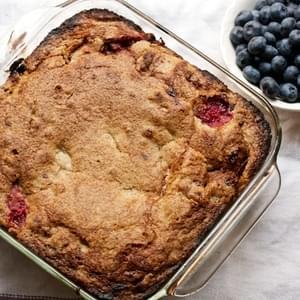 Grandma Esther's Plum and Walnut Cake