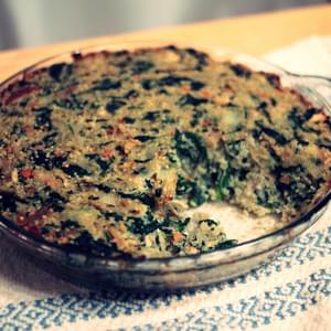 Greek Chicken, Spinach, and Quinoa Bake