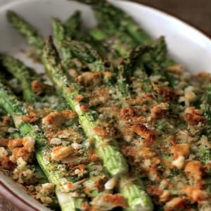 Asparagus and Asiago Gratin