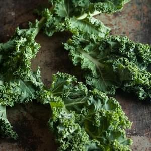 Crispy Kale Chips With Parmesan