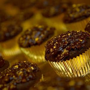 Ferrero Rocher Cupcakes: Rich Chocolate Cupcakes with Hazelnut