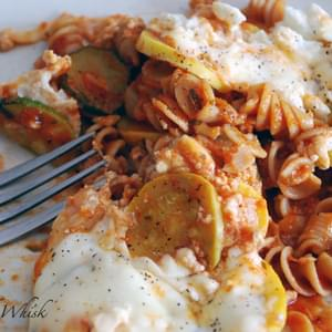 Baked Ziti with Summer Squash (Weight Watchers)