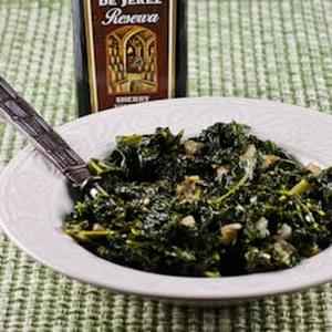 Sauteed Kale with Garlic and Onion (Melting Tuscan Kale)