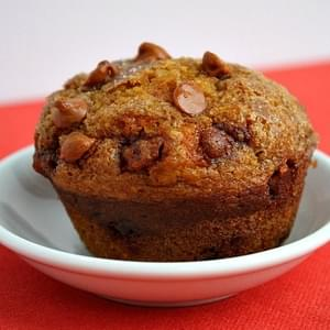 Pumpkin- Cinnamon Chip Muffins