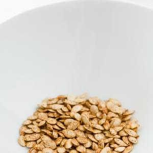 Sweet and Salty Toasted Pumpkin Seeds