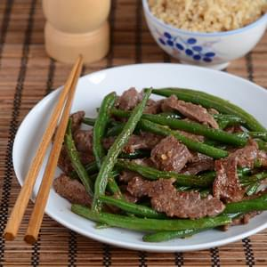 Vietnamese Beef and Green Bean Stir-fry