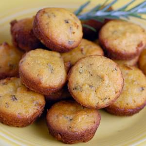 Lemon Rosemary Mini-Muffins