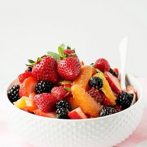 Citrus Mint Fruit Salad
