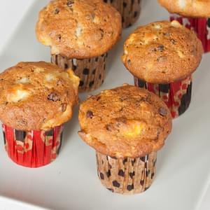 Pear and Chocolate Chip Muffins