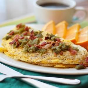 Mushroom Brie Omelet Recipe