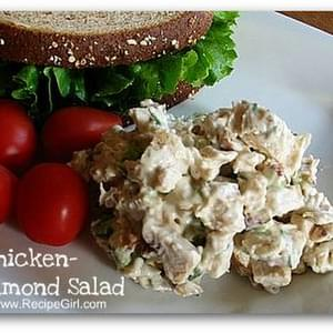 CHICKEN- ALMOND SALAD SANDWICHES