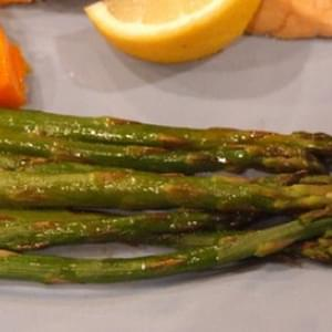 Roasted Asparagus w/ Balsamic Browned Butter