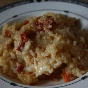 Sundried Tomato CrockPot Risotto