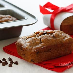 Petite Chocolate Chip Banana Bread Loaves