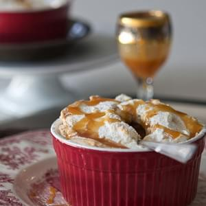 Flourless Apple Souffles for Two