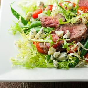 Steak and Blue Cheese Salad