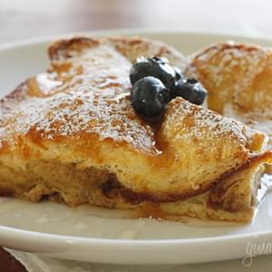 Lightened Up Crème Brûlée French Toast