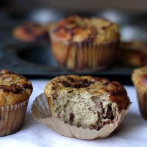 Cinnamon Bun Muffins {using coconut flour}