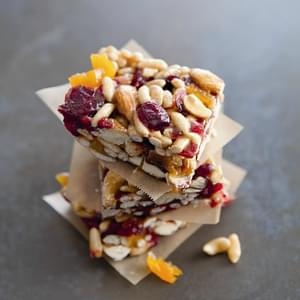 Chewy Fruit & Nut Bars