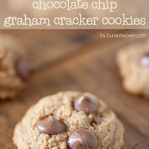 Chocolate Chip Graham Cracker Cookies