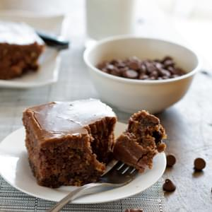 The World's Best Chocolate Oatmeal Cake