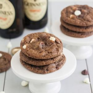 Triple Chocolate Guinness Cookies