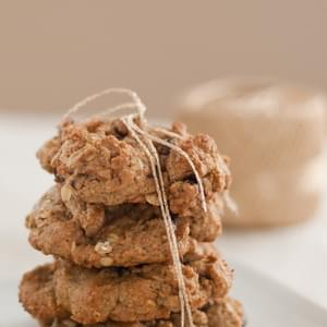 Maple Oat Chocolate Chip Cookies