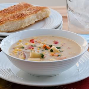 Bacon and Corn Chowder {Slow Cooker}
