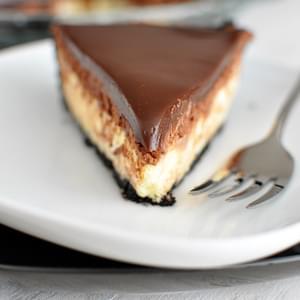 Chocolate Mousse Cheesecake Pie