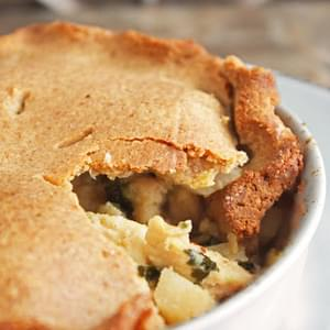 Brazilian Chicken Pie (Low Carb and Gluten Free)