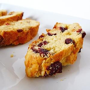Cranberry-White Chocolate Almond Biscotti