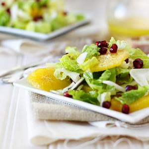 Winter Salad with Oranges, Fennel and Pomegranate